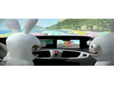 可爱搞笑又有创意的雷诺汽车广告