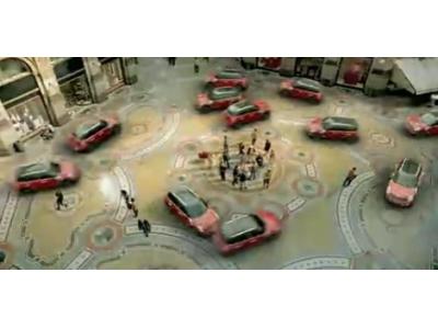 MINI汽车广告 创意广告