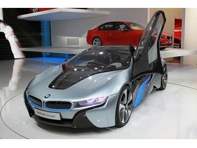 宝马混合动力超级跑车i8明年量产