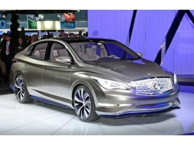 英菲尼迪LE電動概念車亮相紐約車展