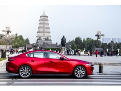 次世代MAZDA3 昂克赛拉·质美中国行驶入长安