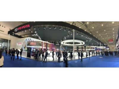 高光車型集體亮相 一汽豐田武漢車展引關注