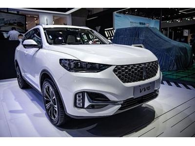 2021款VV6新车型亮相北京车展